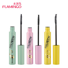 Flamingo 1Set/3Pcs Bottom Eyelash Mascara Supper Fine Head No Clumping Thick & Lengthening & Curling High Definition Mascara Kit