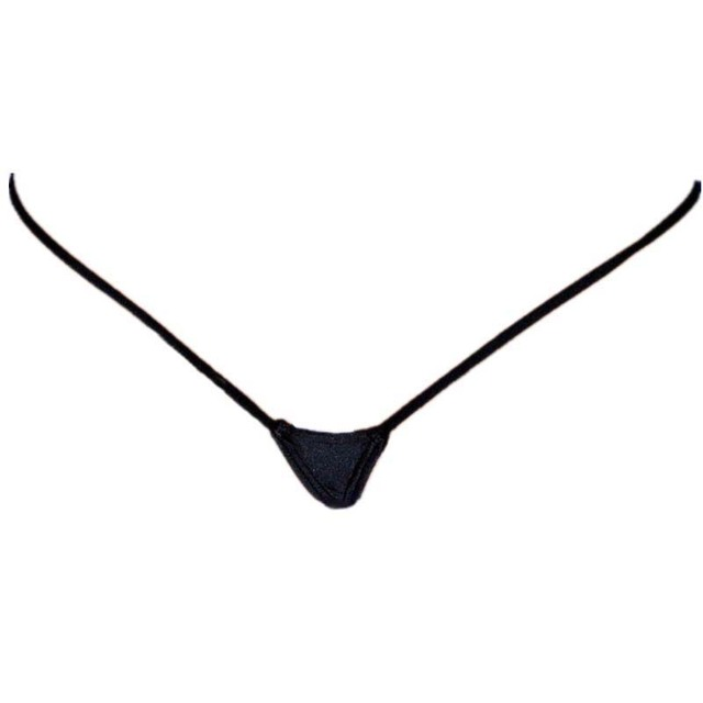 Micro Mini Dentelle G-String avec double sangle de taille standard vêtements culotte femme adulte