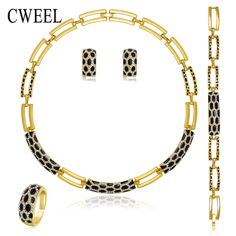 Buy cweel new jewelry sets necklace ring for Buying jewelry on aliexpress