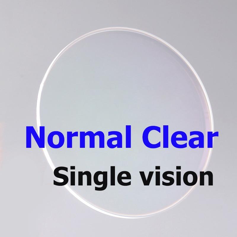 Boer prescription single vision lenses anti blue ray photochromic Myopia Eyeglasses Lens MR-8 Rimless Glasses Optical Lenses