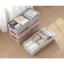 Storage Box Case Organizer Adjustable Flexible Partition For Home Wardrobe Drawer J2Y