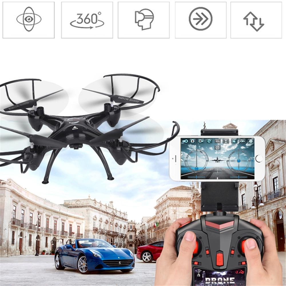 Lensoul FPV Drone 3.0mp WiFi HD della Macchina Fotografica di Video In Tempo Reale RC Quadcopter 2.4 ghz 6-Axis Quadcopter giocattolo Per Bambini regalo