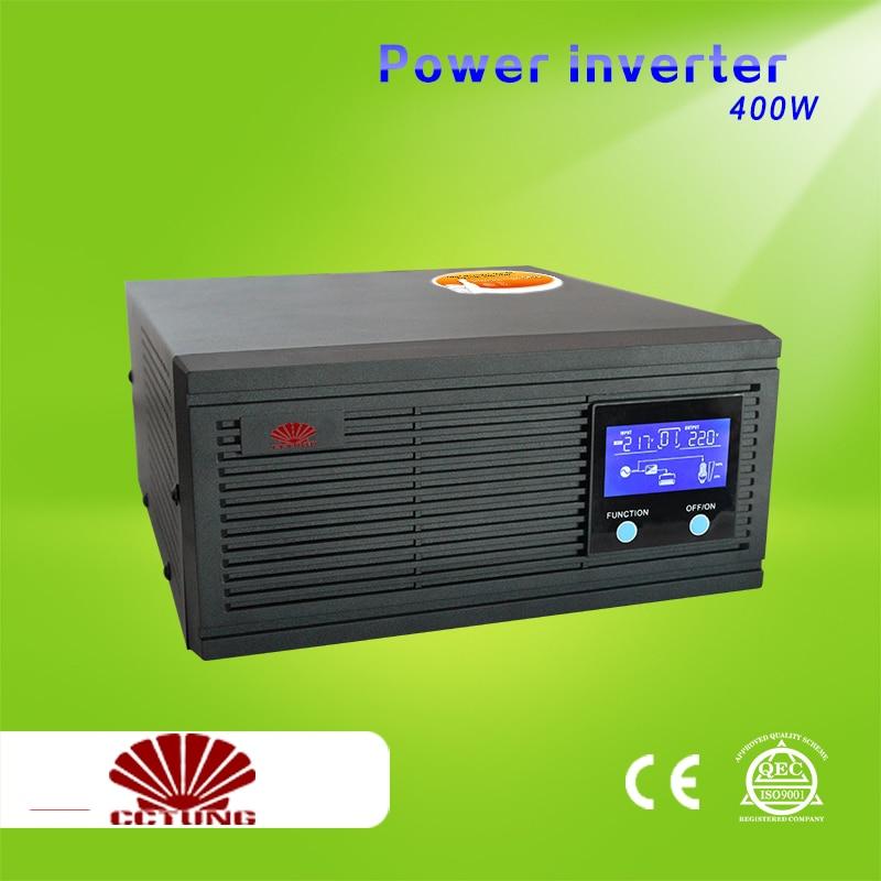 500VA 400W Power Inverter Home Inverter System 85 275VAC Input 110V 220V 230V 240VAC Pure Sine Wave Output with 12V 24V Battery
