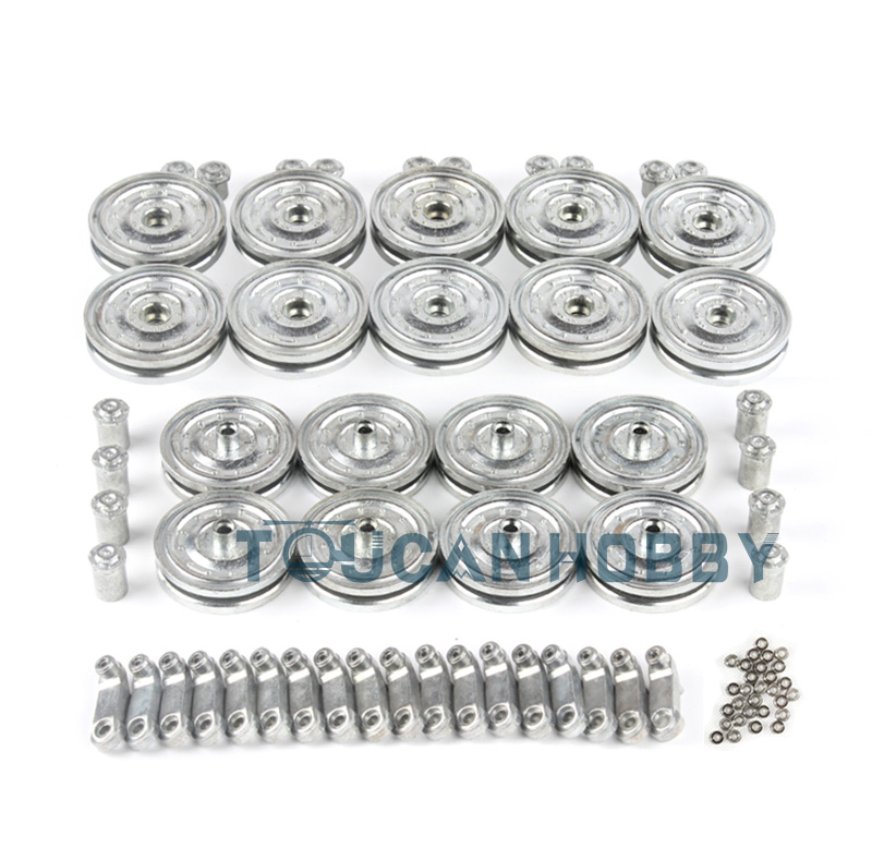 2.4Ghz 1/16 HengLong King Tiger RTR RC Tank Model Metal Road Wheels 3888A 3888 formal vocational education and training