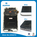 For Galaxy S4 i9505 LCD For Samsung Galaxy S4 i9500 I9505 i337 LCD Display Touch screen Digitizer Assembly With Frame blue white