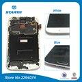 Para galaxy s4 i9505 lcd para samsung galaxy s4 i9500 i9505 i337 LCD screen Display Toque Digitador Assembléia Com Quadro branco azul