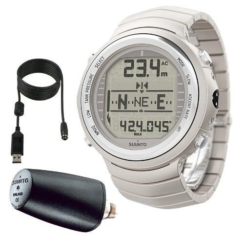 Suunto D9TX avec émetteur et USB Instruments de plongée montres de créateurs-titane