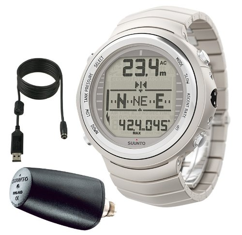 Suunto D9TX with Transmitter and USB Diving Instruments Designer Watches - Titanium suunto m 9