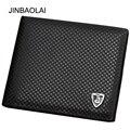 2016 отличное качество JINBAOLAI марка pu кожа на втором этаже солидный мужчина бумажник простой стиль бумажник карты провести