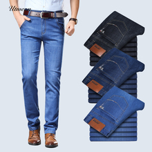 Cotton Straight Classic Jeans 2019 new  Men Spring summer Denim Pants Male Overalls Designer Jeans High Quality Size 28-46