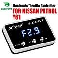 Автомобильный электронный контроллер дроссельной заслонки гоночный ускоритель мощный усилитель для NISSAN PATROL Y61 Тюнинг Запчасти аксессуар
