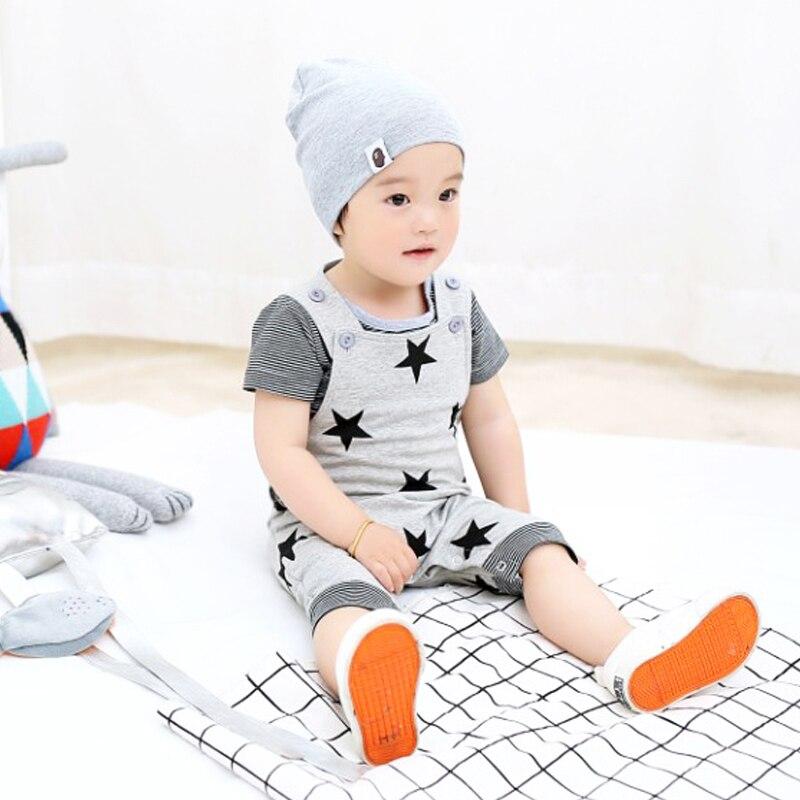 2018 Topkwaliteit baby rompertjes Star Printed Jumpsuit kinderen - Babykleding - Foto 2