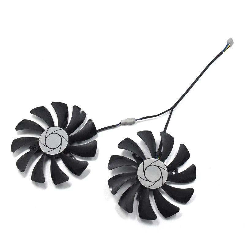 2pcs/set HA9010H12F-Z GTX 1070/1060 GPU Card Cooling Fan For MSI GeForce GTX1060 GTX1070 MINI Graphics Card cooling