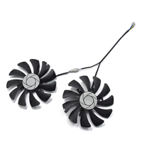 2pcs Set HA9010H12F Z GTX 1070 1060 GPU Card Cooling Fan For MSI GeForce GTX1060 GTX1070