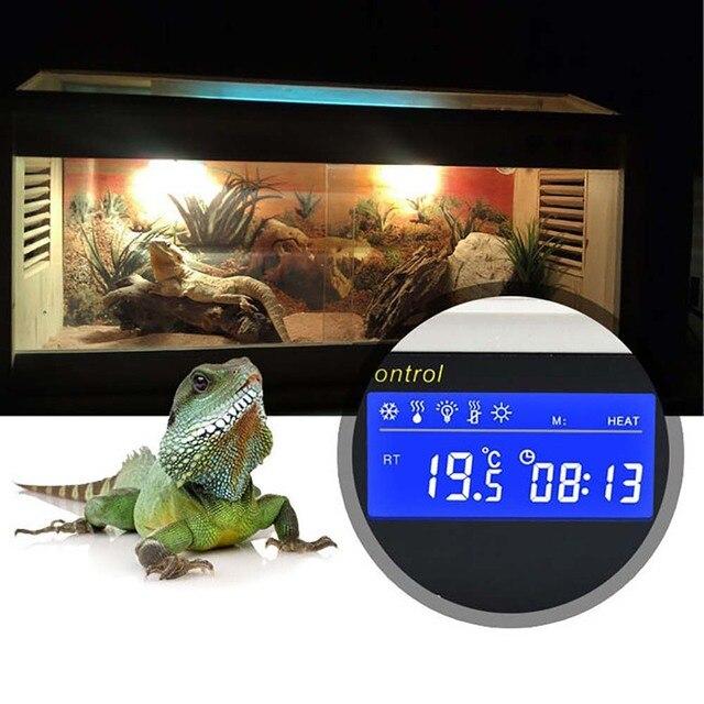 Temperature Controller Aquarium Accessories Thermostat Tortoises Reptiles Temperature Controller with Waterproof Sensor Temperat 1
