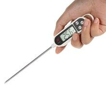 Функция удержания данных термометр для духовки цифровой мини Кухонный Термометр для еды-50C-300C тестер температуры приготовления мяса барбекю C/F