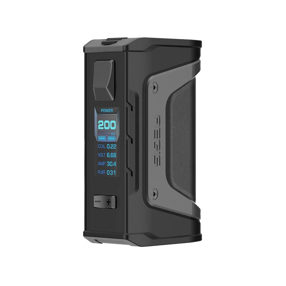Cadeau gratuit! GeekVape Aegis Legend 200 W TC Box MOD nouveau comme chipset puissance par double 18650 batteries e cigs pas de batterie Aegis Legend MOD - 4