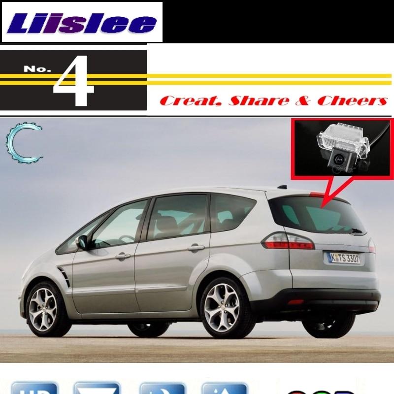 Liislee caméra de voiture pour Ford s-max S Max SMax MK1 2006 ~ 2014 rétroviseur caméra de recul pour PAL/NTSC à utiliser + RCA
