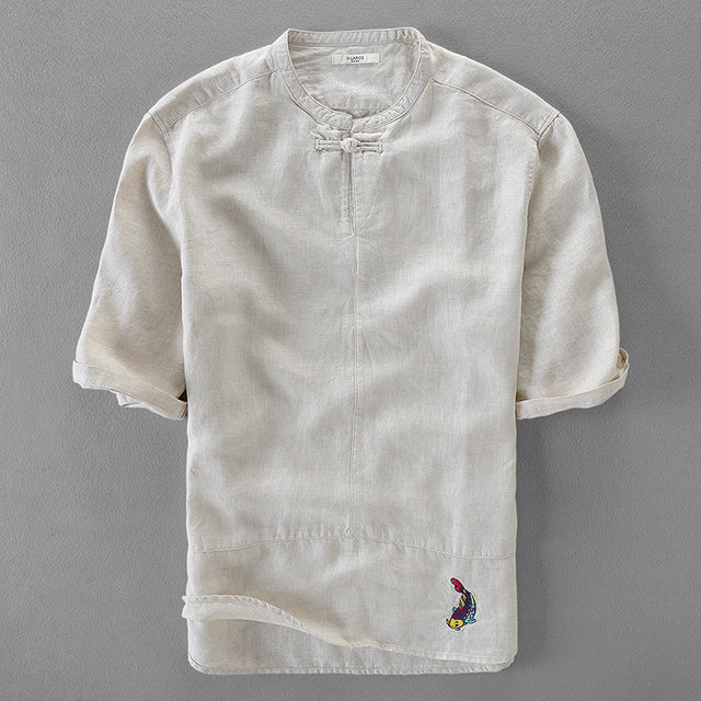 High Quality Chemise homme brand Dress slim fit designer Casual men shirts  men white