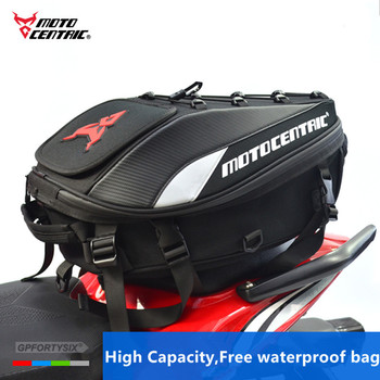 2018 Brand New Waterproof Motorcycle Tail Bag Multifunction Motorcycle Rear Seat Bag High Capacity Motorcycle Rider Backpack