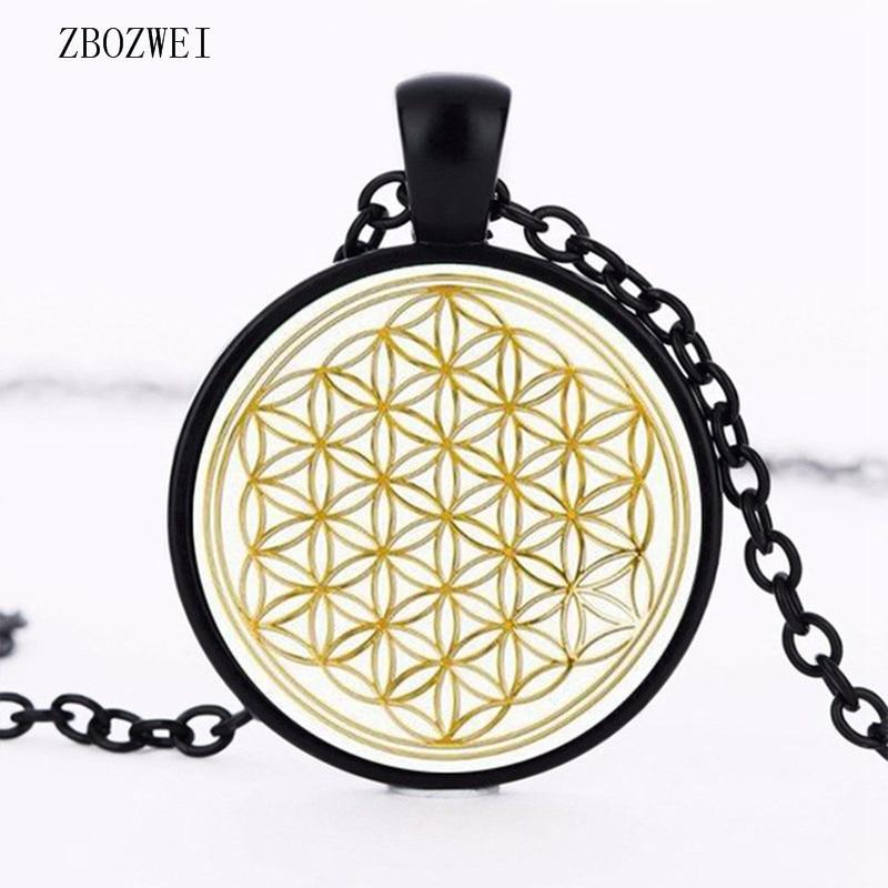 Flor de la vida - Collar de oro