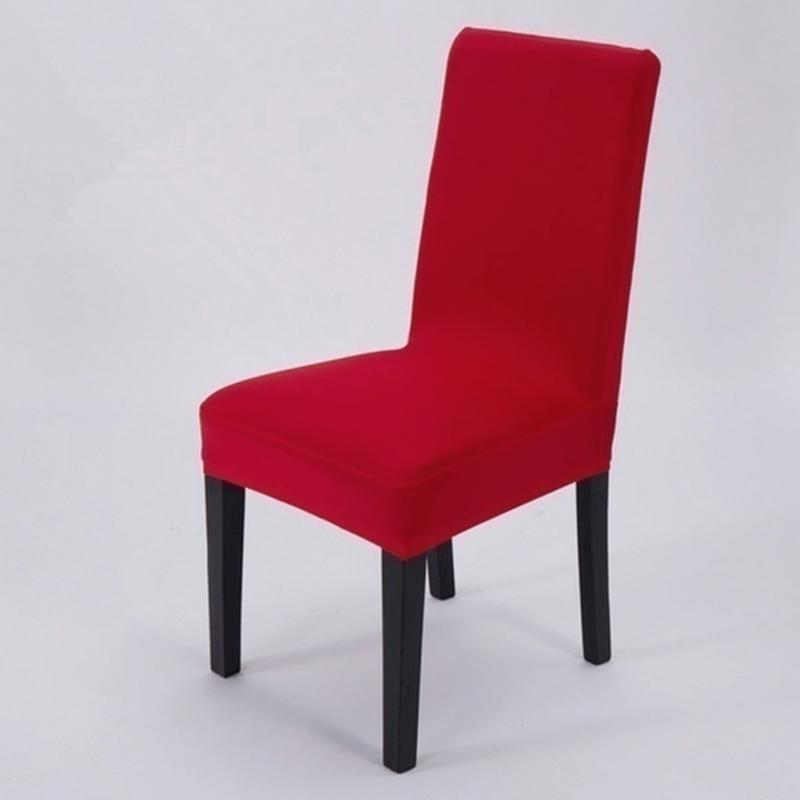 Elegant Home Hotel Stretch Chair Seat Cover Computer Dining Room Kitchen DecorChina Mainland