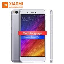 """Original xiaomi mi 5S mi5s 3 gb ram 64 gb rom móvil teléfono Snapdragon 821 Quad Core 5.15 """"Pulgadas FHD Ultrasónico de IDENTIFICACIÓN de Huellas Dactilares NFC"""