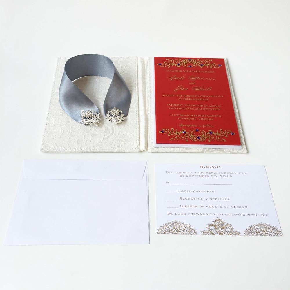 Modern Wedding Invite Letter Ensign Invitations