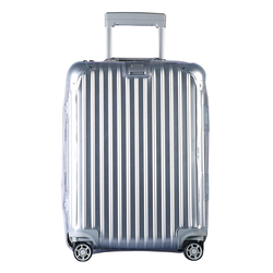 RainVillage luggage covers Suitcase Cover Clear PVC Luggage Protector with Zipper Closure Holder for Rimowa Topas