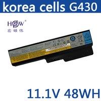 HSW batteries for lenovo G550 G430 G450 G530 N500 G430 Z360 L06L6Y02 L08L6C02 L08O6C02 L08S6C02 L08S6Y02 51J0226 57Y6266
