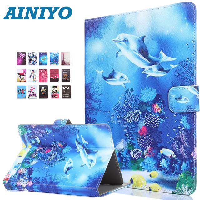 buy online bb89d ad01d Universal case for Samsung GALAXY Tab E Lite 7.0 T113 T116 7 inch Tablet  Printed PU Leather Stand Case 3 Gifts