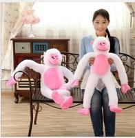 WYZHY Mascot long arm monkey orangutan doll plush toy to send friends and children gifts 100cm