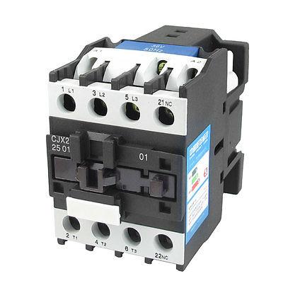 цена на 220V Coil Motor Controler AC Contactor 3 Pole 3P NC 660V 11KW CJX2-2501