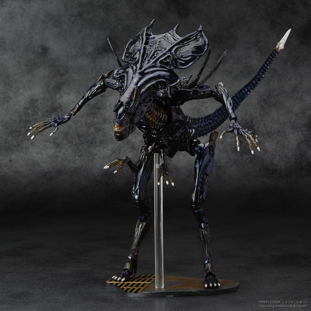 SCI-FIRECOLTECK Aliens Series No.018 Alien Queen Xenomorph Warrior PVC Action Figure Collectible Model Toy Doll 32cm KT464