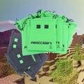 10 pçs/lote pacote de saco de armazenamento de Minecraft Minecraft Creeper brinquedo de poliéster de festa de aniversário