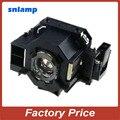 Compatible bombilla Lámpara Del Proyector con la vivienda para EMP-822P EMP-83E EMP-410W ELPLP42 V13H010L42 EB-410W EMP-83HE EB-410WE