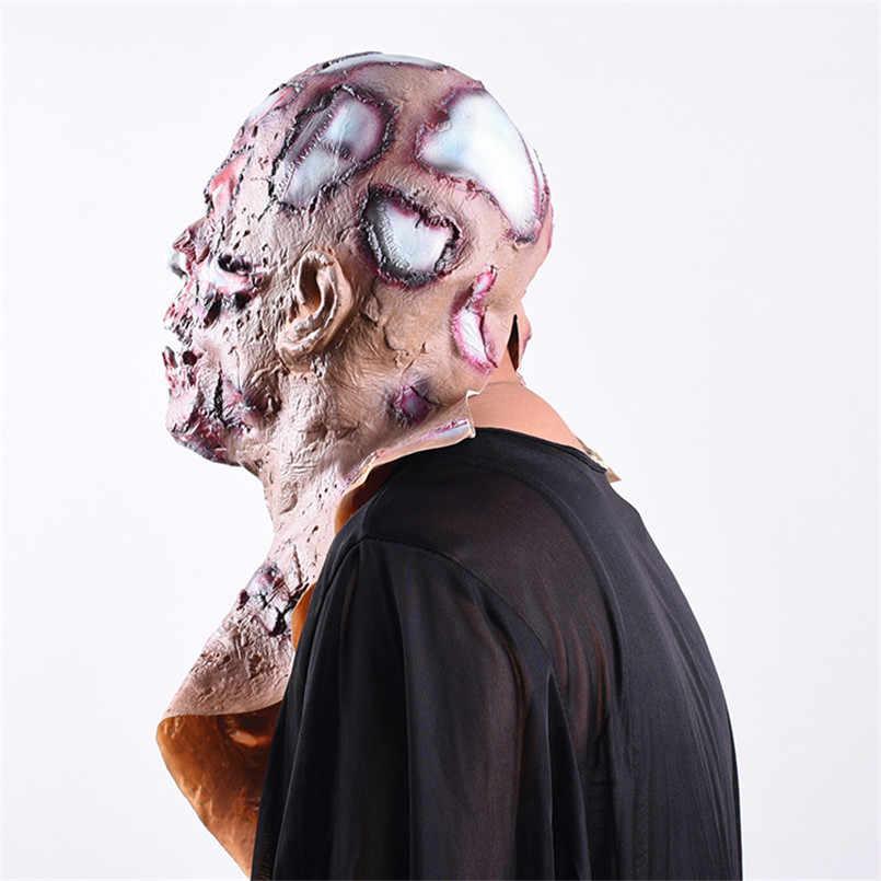 Decorazione di Halloween Puntelli Orrore Realistico Mask Creepy Sanguinante Maschere per Halloween del Partito di Cosplay Mascara De Payaso De Terrore