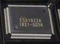 5PCS NEW ES51922A ES51922  QFP1285PCS NEW ES51922A ES51922  QFP128