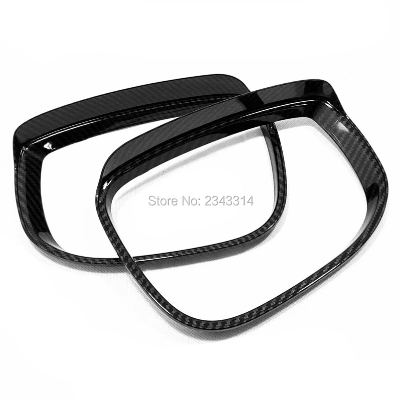 For <font><b>Mazda</b></font> CX-5 KF 2018 <font><b>2019</b></font> ABS Chrome Door Side Wing Mirror Rain Eyebrow Shield Cover Rear View Mirror Protector Car <font><b>Accessory</b></font> image