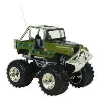 جديد كبير عجلة rc سيارة 2.4 جرام 4ch 4wd روك الزواحف يقود سيارة مزدوجة المحركات محرك فوت لعب للأطفال صبي