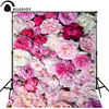 Kate Photographic Background Pink Flowers Red Peony Newborn Vinyl Backdrops Photocall Custom Send Rolled