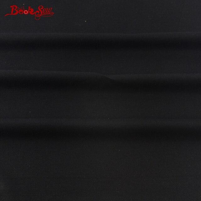 Hoge Kwaliteit 100% Katoen Twill Zwarte Klassieke Kleur Thuis Textiel Materiaal Naaien Zachte Doek Tela Voor Beddengoed Ambachten