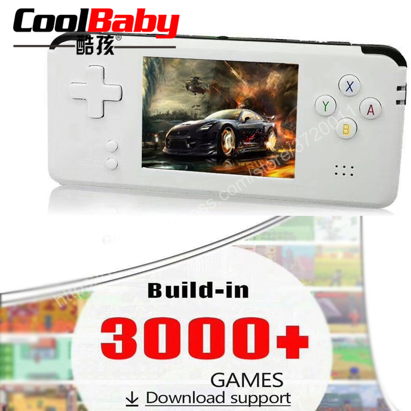 Portable Video Handheld Game Console Retro 16GB Video Game Retro Handheld Game Player Built-in 3000 Games image