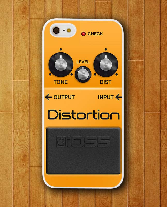 White Border Phone Case Yellow Ioss Panel Music Distortion Case for Apple iPhone 4 4s 5 5s 5c 6 6s plus Mobile Cover 2015