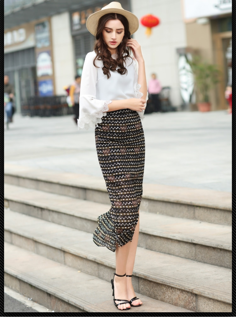 Ankle Length Pencil Skirt Promotion-Shop for Promotional Ankle ...