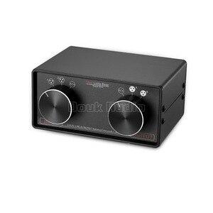 Image 3 - Nobsound 3 ב 3 החוצה XLR מאוזן/RCA סטריאו ממיר אודיו בורר תיבת פסיבי Preamp עבור בית מגבר