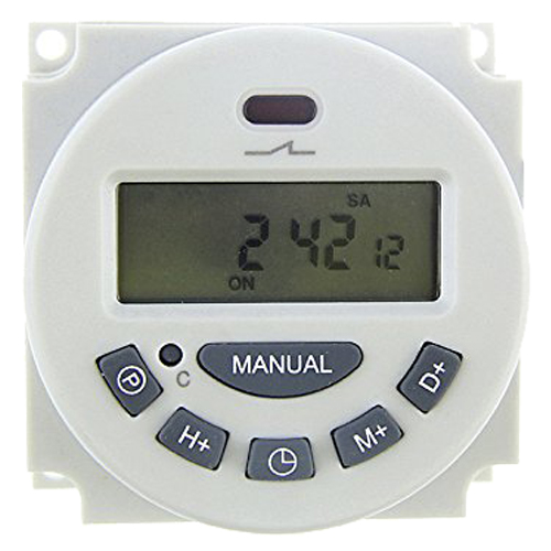 DC 12V Digital LCD Programmable Timer Relay Time of Weekly Electronic Programmable Electronic Timer Switch electronic light switch weekly programmable timer digital switch relay timer controller for controlling road lamp neon light