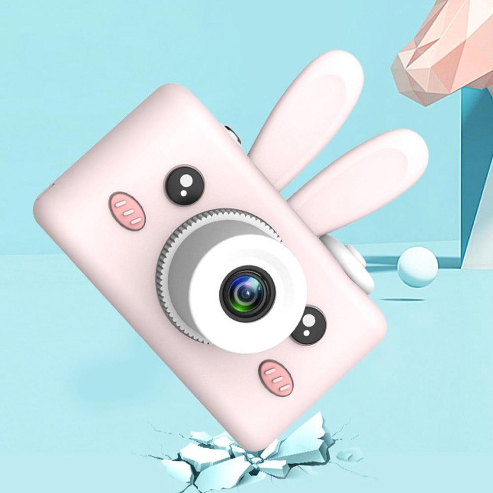 Enfants électronique stabilisation d'image Anti-chute reconnaissance du visage 9 millions de pixels 2.0 pouces Mini caméra numérique HD caméscope vidéo
