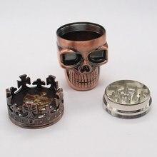 King Skull Weed Herb Grinder