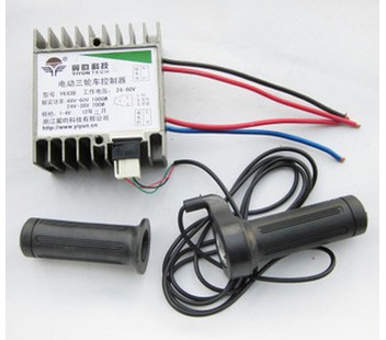 ФОТО free  shipping YK43B 1000W 60V electric bike kit  electric motor controller   brushed controller